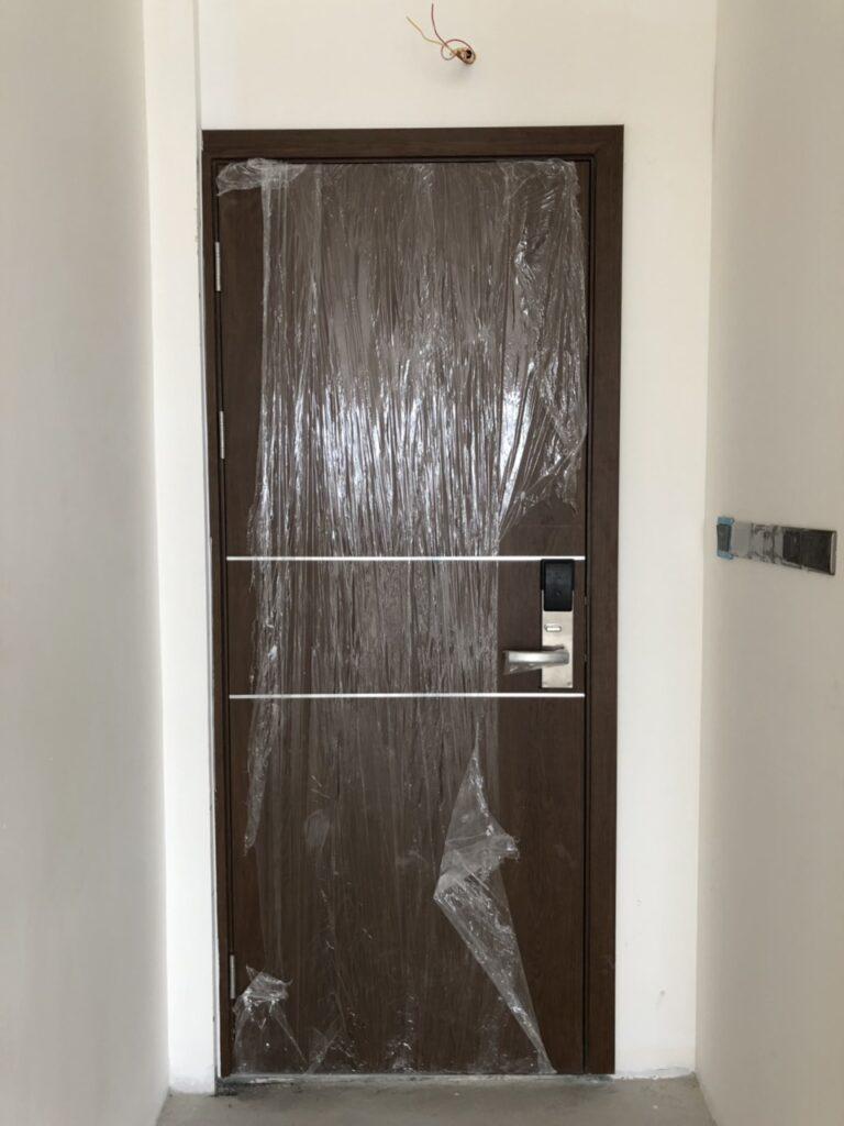 Cửa composite thông phòng