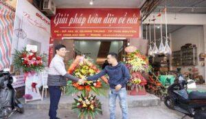 Cửa thép vân gỗ Thái Nguyên