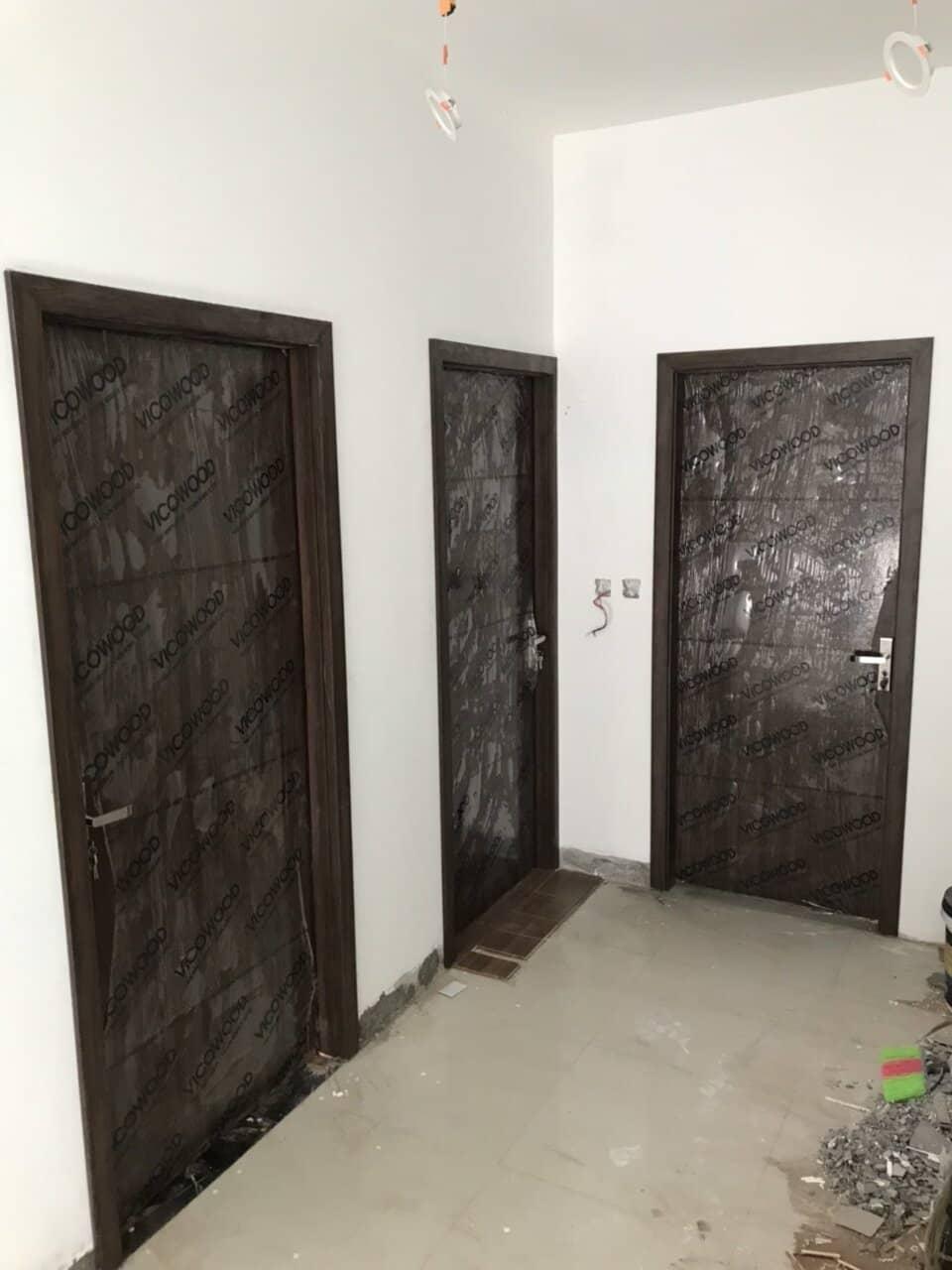 Cách Chọn kích thước cửa gỗ nhựa Composite