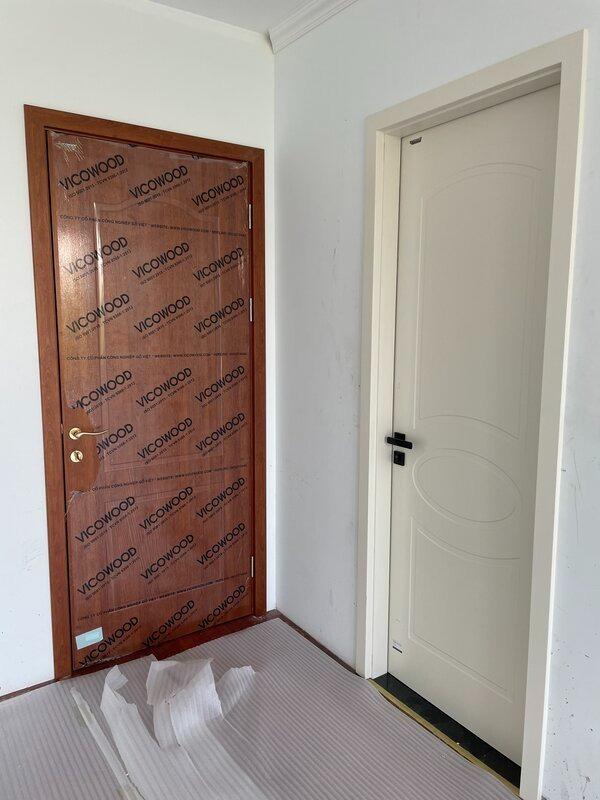 Cửa composite giả gỗ