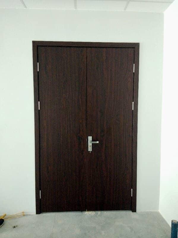 Mẫu cửa nhựa giả gỗ composite Vicowood đẹp