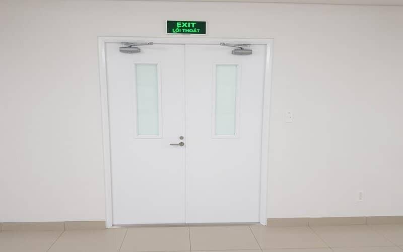 Lắp cửa thép chống cháy Galaxy Famille Hà Nam