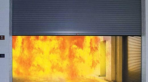 Cửa cuốn thép chống cháy